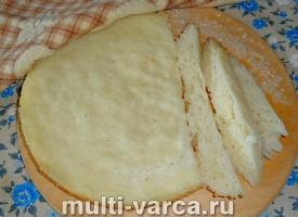 Рисовый хлеб в мультиварке