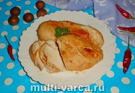 Куриная грудка в соевом соусе в мультиварке