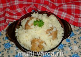 Купаты с рисом в мультиварке