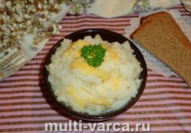 Рис с сыром в мультиварке