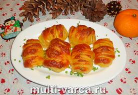 Картофель по-шведски в духовке