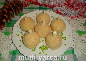 Сырные шарики с курицей