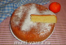 Кекс со сгущенкой в мультиварке