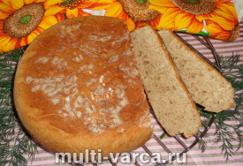 Диетический хлеб в мультиварке