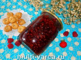 Варенье из клубники и малины в мультиварке