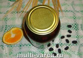 Компот из шелковицы с апельсином на зиму
