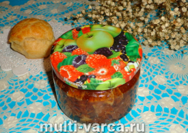 Варенье из яблок с корицей на зиму