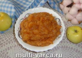 Пюре из яблок и груш на зиму
