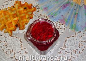 Желе из красной смородины в мультиварке