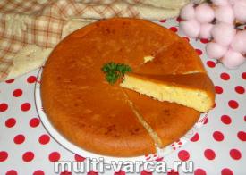 Заливной пирог с сыром в мультиварке