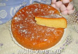 Имбирный пирог в мультиварке