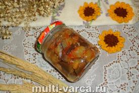 Баклажаны в кетчупе на зиму