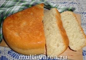 Постный хлеб в мультиварке