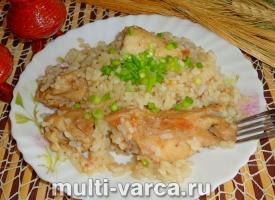 Рис с курицей в соевом соусе в мультиварке