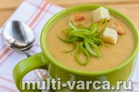 Суп-пюре из чечевицы с кукурузой в мультиварке