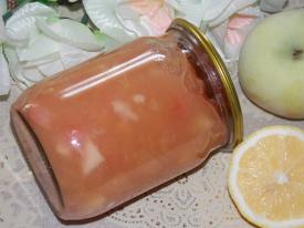 Яблочное варенье с лимоном на зиму