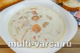 Норвежский рыбный суп
