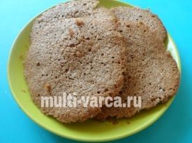 Гречневое печенье в мультиварке