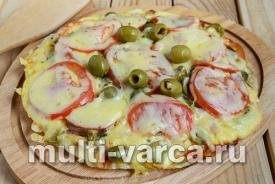 Вкусная пицца на лаваше в мультиварке