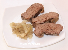 Пикантная тушеная говядина в мультиварке – кулинарный рецепт