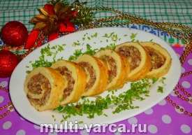 Как приготовить вкусные закусочные рулеты на праздничный стол