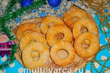 Рождественские сахарные кольца
