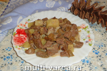 Говядина с ананасами в мультиварке