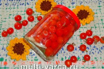 Маринованные помидоры черри на зиму