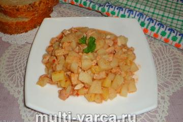 Картофельный соус в мультиварке