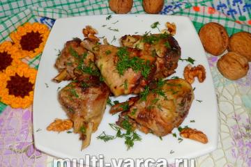 Сациви из курицы в мультиварке