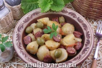 Пошаговое приготовление молодой картошки с фото.