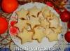 """Рецепт домашнего песочного печенья """"Рождественские звезды"""""""