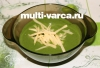 Суп из шпината в мультиварке