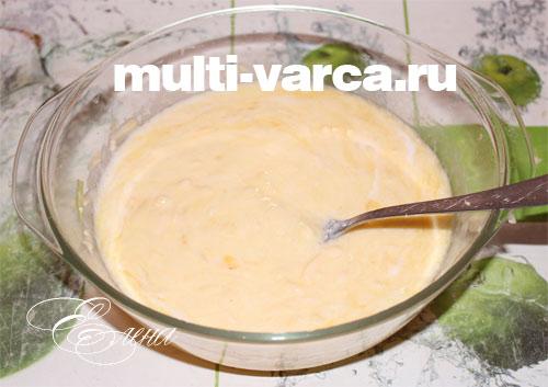приготовление пирога с капустой в мультиварке