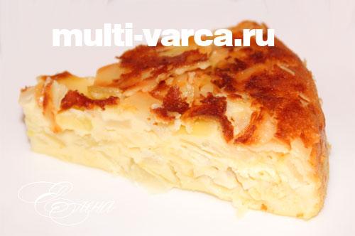 пирог с капустой в мультиварке панасоник