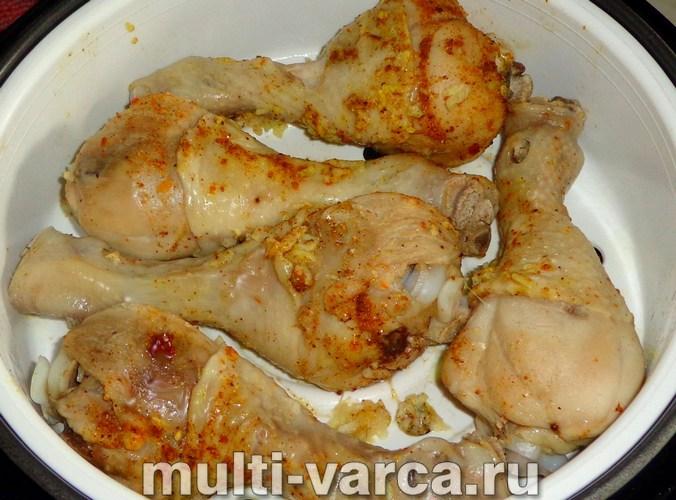 Рецепт куриных голеней на пару в мультиварке рецепты